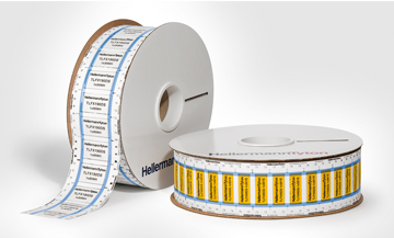 Wire identification sleeves - Ladder style format