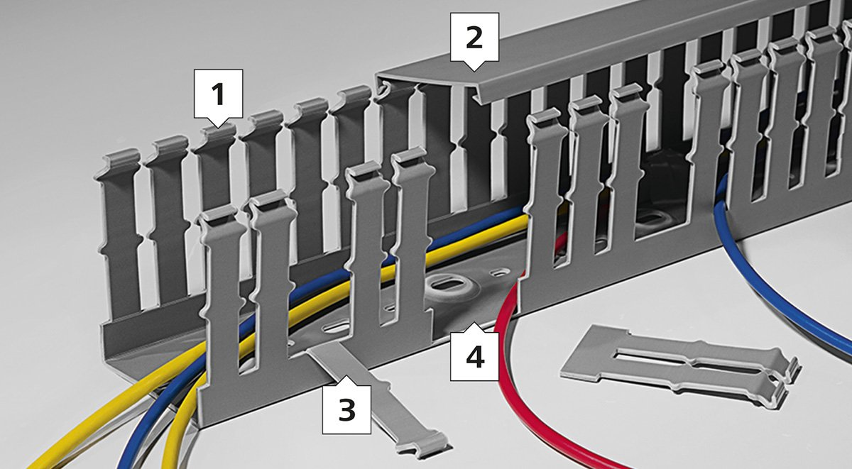 Cable Identification In Panel Building Hellermanntyton Control Wiring Standards An Abundance Of Products