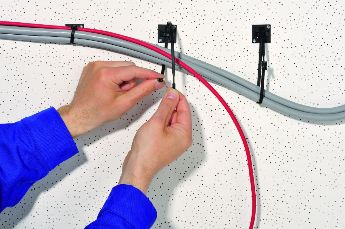 Standard self-adhesive cable tie mount Q-Series