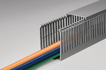 PVC wire trunking